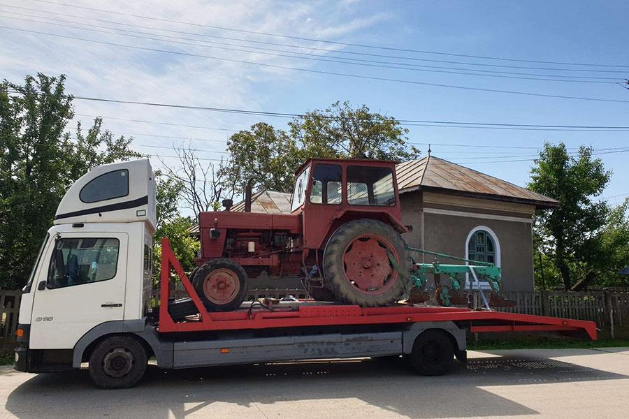 Transport utilaje
