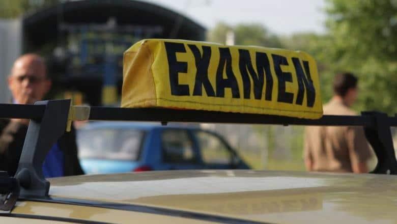 examen permis de conducere